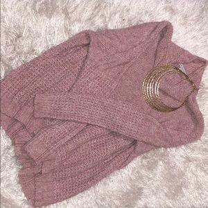 "Pink ""loose/oversized"" Sweater"